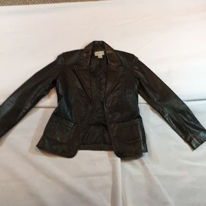 Rubbish brand from Nordstrom Real Leather Jacket